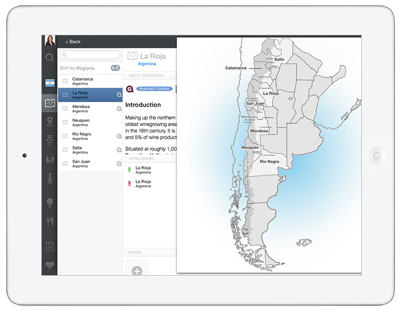 Argentina Wine App for iPhone and iPad